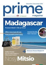 PRIME MAGAZINE 001  DECEMBER 2016 -