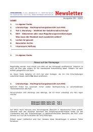 Neues auf der Homepage - Zorn-Seminare