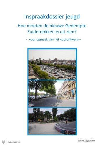 Online bevraging jeugd over toekomst Gedempte Zuiderdokken