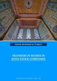 TRANSFER OF SHARES IN JOINT STOCK COMPANIES