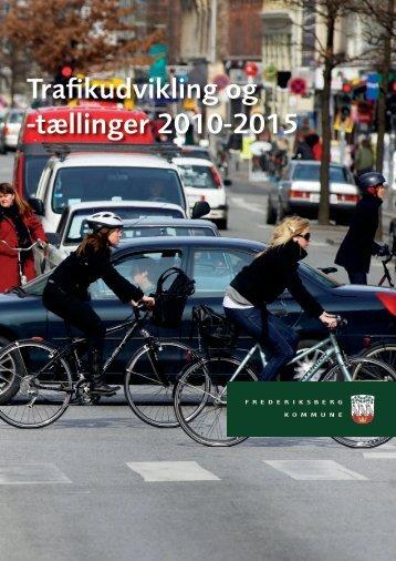 Trafikudvikling og -tællinger 2010-2015