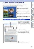 Sony DSC-T110 - DSC-T110 Istruzioni per l'uso Portoghese - Page 2