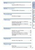Sony DSC-T110 - DSC-T110 Istruzioni per l'uso Francese - Page 6