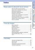 Sony DSC-T110 - DSC-T110 Istruzioni per l'uso Spagnolo - Page 5
