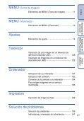 Sony DSC-T110 - DSC-T110 Istruzioni per l'uso Spagnolo - Page 6