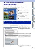 Sony DSC-T110 - DSC-T110 Istruzioni per l'uso Svedese - Page 2