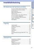 Sony DSC-T110 - DSC-T110 Istruzioni per l'uso Svedese - Page 5