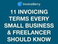 11 Invoicing Terms Every Small Business & Freelancer Should Know