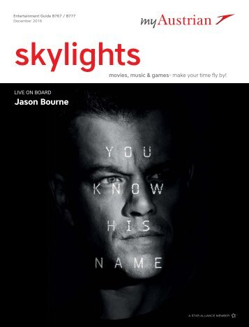 Skylights - Entertainment Guide Long-haul, December 2016