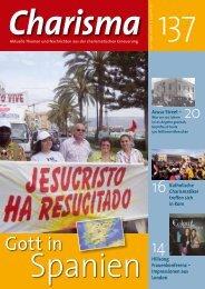 Gott in - Charisma Magazin