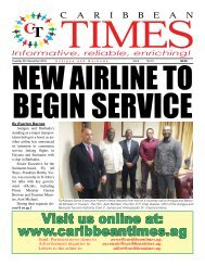 Caribbean Times 51st Issue - Tuesday 6th December 2016