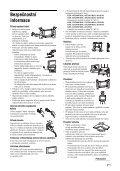 Sony KDL-26S2030 - KDL-26S2030 Istruzioni per l'uso Ceco - Page 7