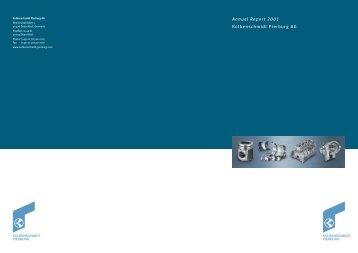 Annual Report 2001 - KSPG AG