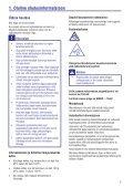 Philips GoGEAR Baladeur MP4 - Mode d'emploi - EST - Page 3