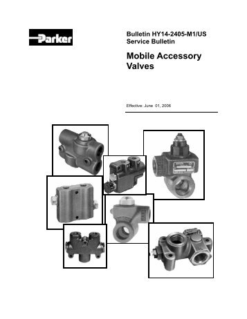 Bulletin HY14-2706-M2/US - Parker Hannifin - Solutions for the ...