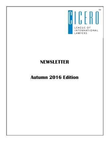 Autumn 2016 Edition