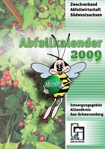Kalender 2009 JANUAR FEBRUAR MÄRZ APRIL MAI ... - beim ZAS