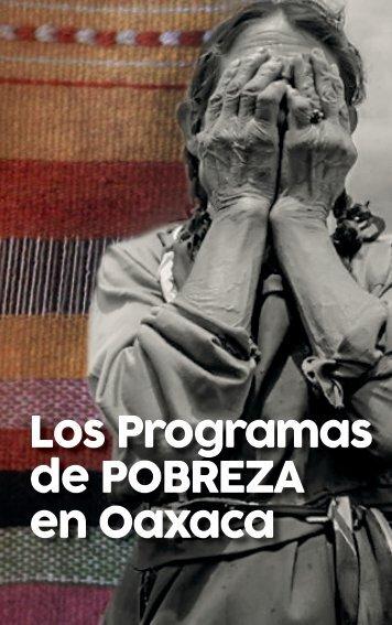 de POBREZA en Oaxaca