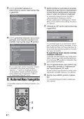 Sony KDL-46V2500 - KDL-46V2500 Istruzioni per l'uso Ungherese - Page 6