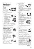 Sony KDL-46V2500 - KDL-46V2500 Istruzioni per l'uso Slovacco - Page 7