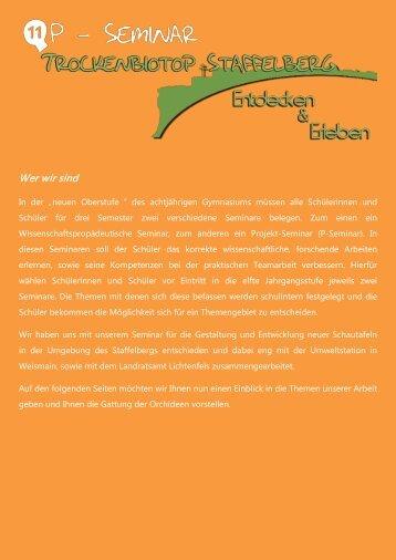 Trocken- und Magerrasen - Meranier Gymnasium