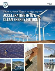 ACCELERATING INTO A CLEAN ENERGY FUTURE