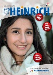 HEINRICH Nr. 1-5: Das Kundenmagazin der WICHMANN-GRUPPE CELLE