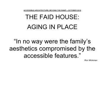 The Faid House