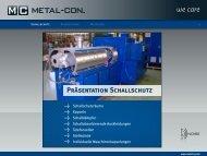 Schallschutzräume - Metal-Con.de