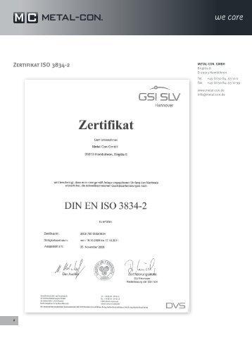 Zertifikat ISO 3834-2.pdf - Metal-Con.de
