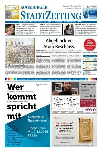 101 Augsburg - Süd 07.12.2016