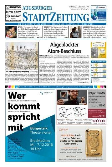 102 Augsburg - West 07.12.2016