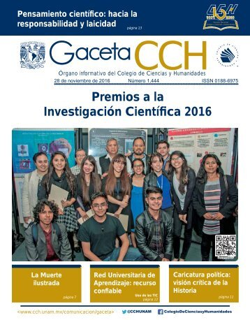 Premios a la Investigación Científica 2016