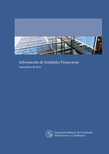 Información de Entidades Financieras