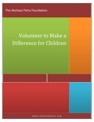 Volunteer to Make a Difference for Children