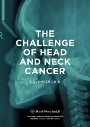 THE CHALLENGE OF HEAD AND NECK CANCER