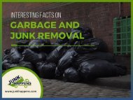 Interesting Facts on Garage and Junk Removal