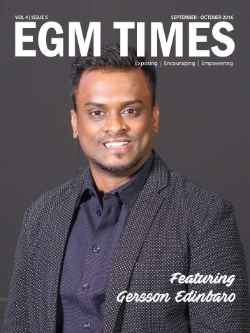 EGM TIMES SEP-OCT 2016