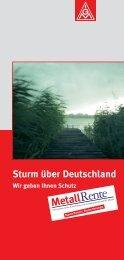 Sturm über Deutschland - MetallRente
