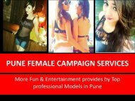Pune Escorts Dating Services- Ishita Tiwari