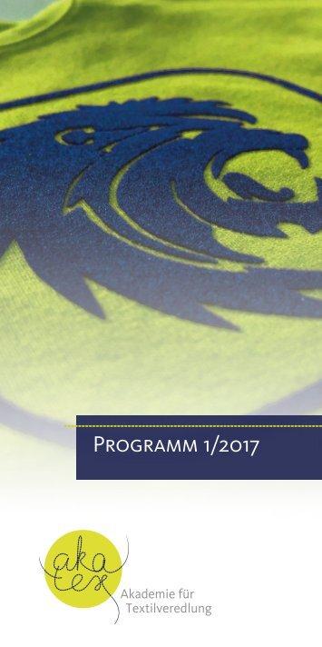 Programm 1/2017