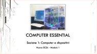 Nuova ECDL Mod. 1 Computer e dispotivi