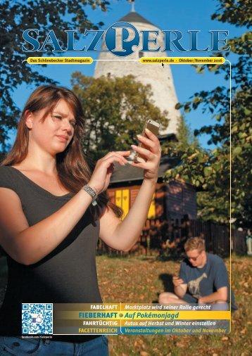SALZPERLE - Stadtmagazin Schönebeck (Elbe) - Ausgabe 10/2016+11/2016