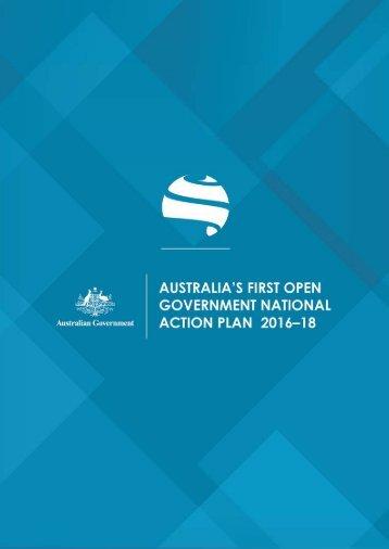 Australia's National Action Plan 2016-18   1