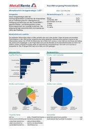 Report MRPF - MetallRente