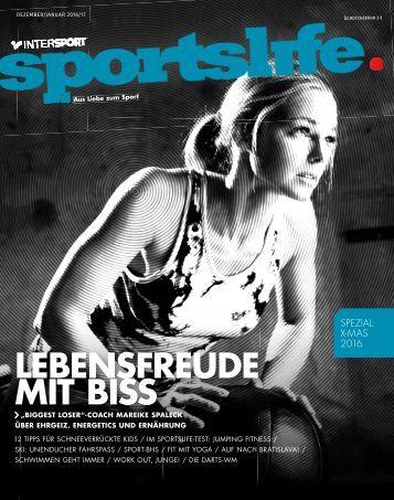 sportslife Dezember / Januar 2016