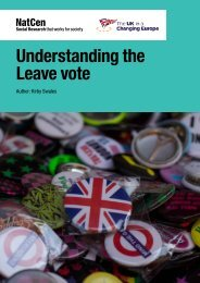 Understanding the Leave vote
