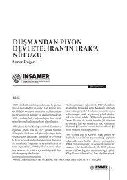 DÜŞMANDAN PİYON DEVLETE İRAN'IN IRAK'A NÜFUZU
