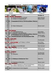 Angebote der Bergtourengruppe 2013 - Deutscher Alpenverein ...