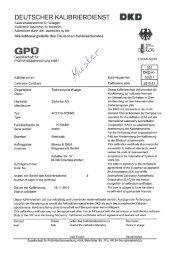 deutscher kalibrierdienst - Mewes & Götzl Wägetechnik GmbH
